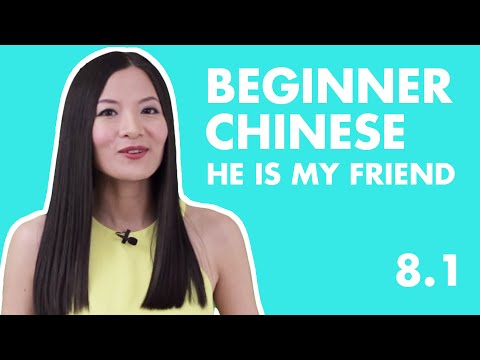 Basic Beginner Chinese Lesson 8.1 |  HSK Level1 Chinese Speaking Practice: Question Who in Chinese