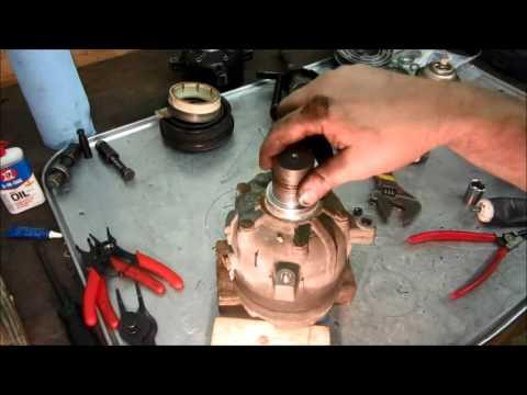 Delphi Harrison V5 A C Compressor Full Teardown And