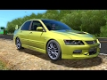 Mitsubishi Lancer Evolution | City Car Driving
