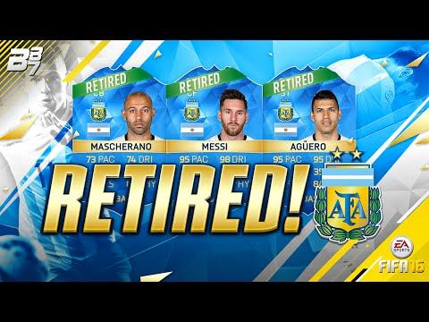 ARGENTINA RASH RETIREMENTS?!? | FIFA 16