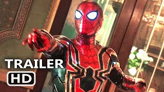 SPIDER-MAN FAR FROM HOME Official Trailer # 2 (2019) Tom Holland Movie HD