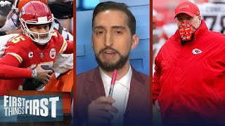 Andy Reid makes greatest call in NFL history post Mahomes injury for KC — Nick | FIRST THINGS FIRST