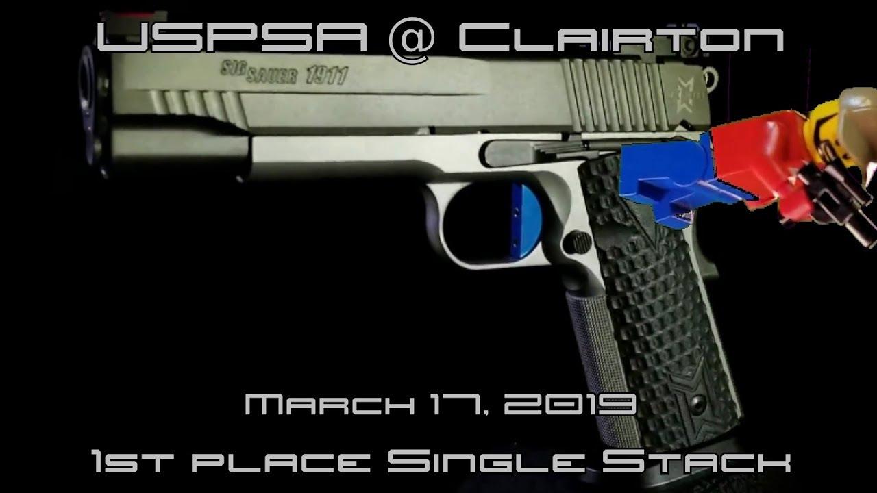 USPSA @ Clairton - Mar 17, 2019 - Single Stack