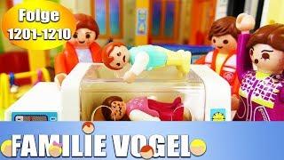 Playmobil Filme Familie Vogel: Folge 1201-1210 | Kinderserie | Videosammlung Compilation Deutsch