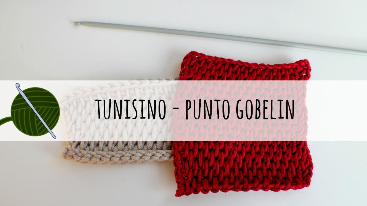 Tutorial Uncinetto Tunisino Punto Gobelin Youtube