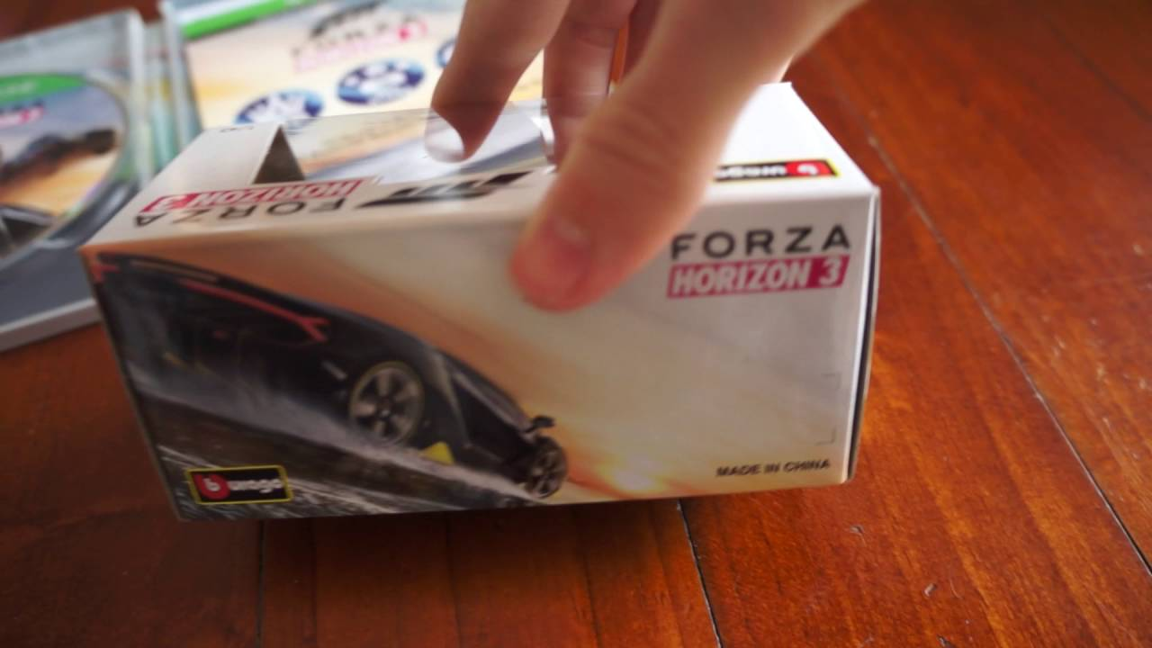 forza horizon 3 ultimate edition unboxing youtube. Black Bedroom Furniture Sets. Home Design Ideas