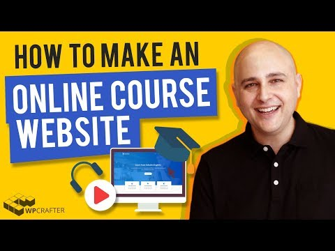 How To Make An Online Course Website With WordPress Using LearnDash 3 (Step By Step 2019)