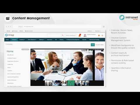 KNOWARTH Corporate Intranet Portal Demo