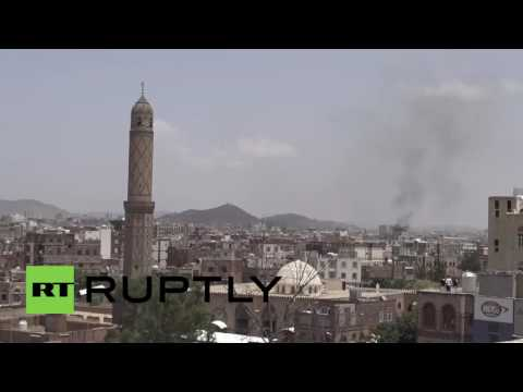 Yemen: Saudi-led coalition air strikes hit Sanaa for first time in 4 months - reports