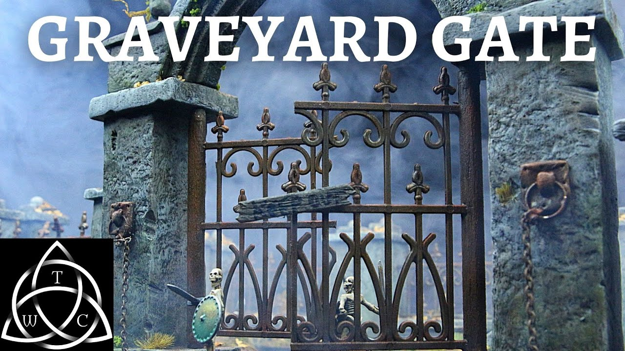 Modular Graveyard Gate for Dungeons and Dragons