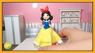 Làm bánh kem Bạch tuyết tí hon - Cake Snow White