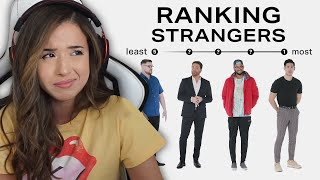 Ranking Strangers by Attractiveness - Pokimane Reacts