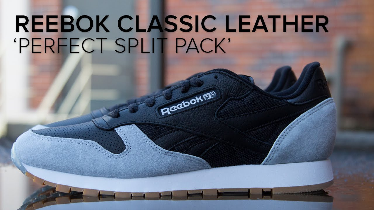 1ebe78f224c2dd Reebok Classic Leather x Kendrick Lamar  Perfect Split Pack  Detailed Look  - YouTube