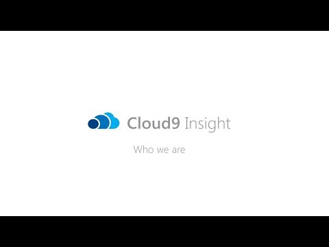 Who We Are - Cloud9 Insight