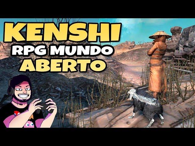 KENSHI com 300 Mods! RPG de Mundo Aberto [Kenshi] | Gameplay Português PT-BR