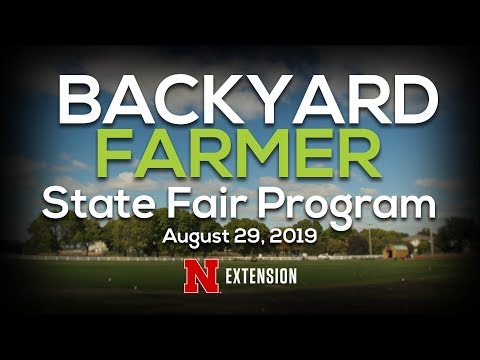 Backyard Farmer August 29, 2019