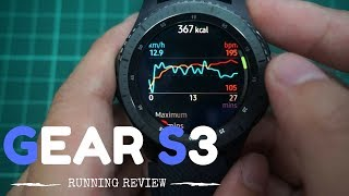 Best Fitness Tracker Watch - SAMSUNG GEAR S3 RUNNING REVIEW