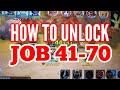 RAGNAROK MOBILE: UNLOCK JOB 41-70