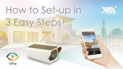 VPai Smart Security Solar IP Camera: How to Set-up in 3 EASY Steps!