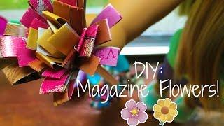 Diy: American Girl Magazine  Flowers!