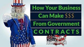 Как ваш бизнес может зарабатывать деньги из государственных контрактов