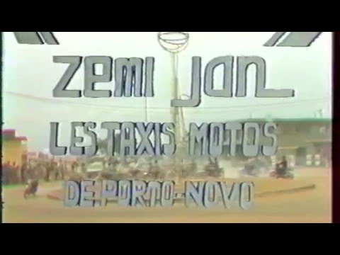 ZEMIJAN - Taxis motos (Bénin, ancien Dahomey)