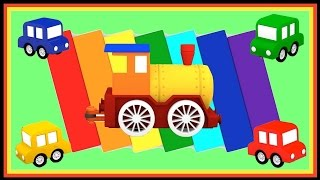 Cartoon Cars Magic Train PUZZLE Compilation -  Videos for Kids.Cartoons for Children. Kids Animation