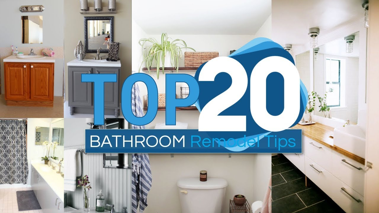 20 Bathroom Remodel Tips And Tricks That Won\'t Cost You A Fortune ...