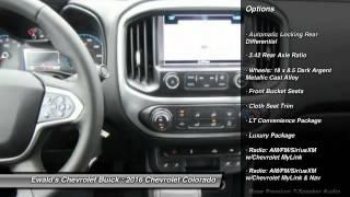 2016 Chevrolet Colorado Oconomowoc WI 16C76