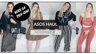 SIZE 14 TRY-ON ASOS HAUL - NOVEMBER 2018 / Gem Lo Valentine