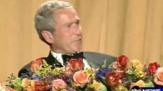 Bush Realtime Reaction to Colbert Speech