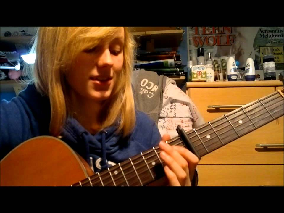 How to play When I Look At You (Miley Cyrus) acoustic guitar lesson ...