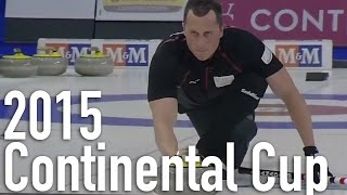 Homan/Harnden vs. Prytz/Nergaard - 2015 World Financial Group Continental Cup Mixed Doubles (Draw 2)