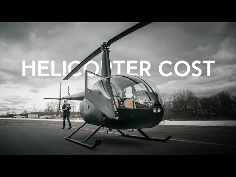 How Much a Private Helicopter ACTUALLY Costs to Own | Real Life R44 Ownership Numbers