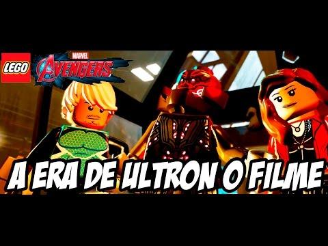 Lego Marvel Vingadores A ERA DE ULTRON O FILME HD-1080P (DUBLADO PORTUGUÊS PT-BR)
