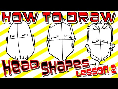 How To Draw Quick Caricature Head Shapes Lesson