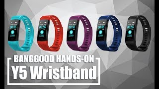 Goral Y5 smart band ( for sport, for life, for daily use) Blood Pressure Heart Rate Monitor