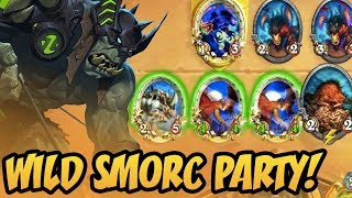 Wild Smorc Party! | Rastakhan's Rumble | Hearthstone