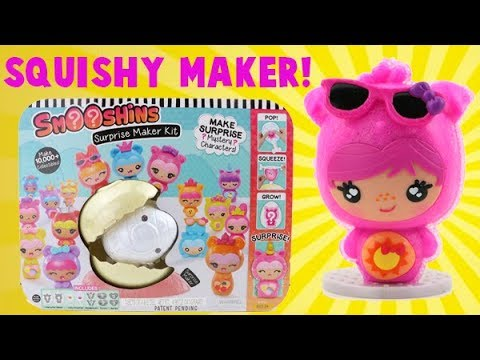 Squishy Maker! Smooshins Surprise Squishy Toy Maker! - YouTube
