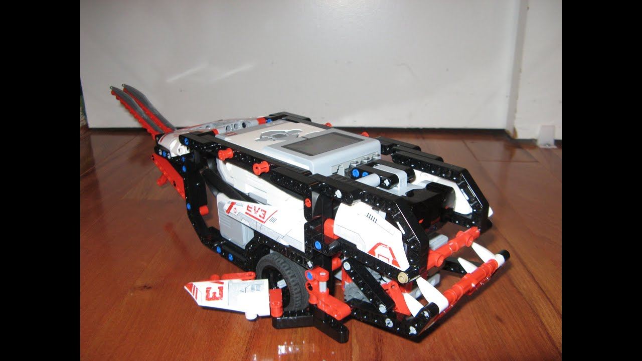 Timmyton 5.5, a Robotic Shark - MINDSTORMS EV3 Creations ...