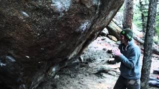 Daniel Woods - Bridge of Ashes 8C second ascent