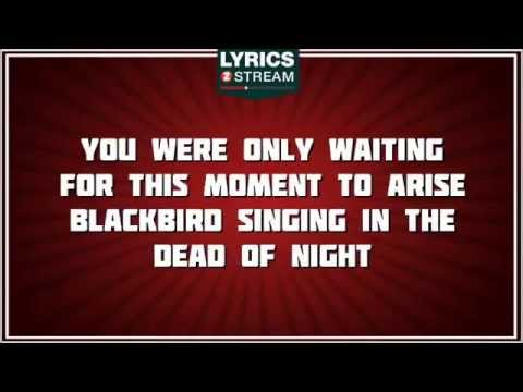 Blackbird - The Beatles Tribute - Lyrics