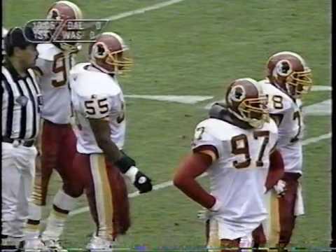 1994 Week 5 Dallas Cowboys at Washington Redskins 1st half