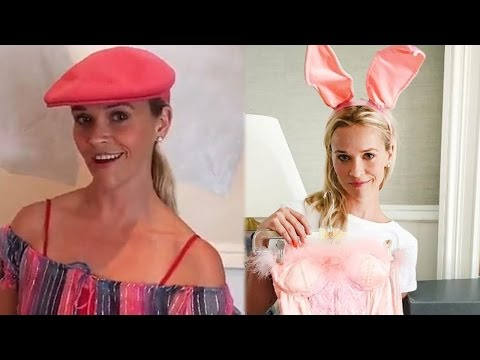 Reese Witherspoon Tries On Legally Blonde Costumes For 15th Anniversary & Does The 'Bend and Snap'