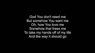 Control (Somehow You Want Me)- Tenth Avenue North Lyrics.mp3