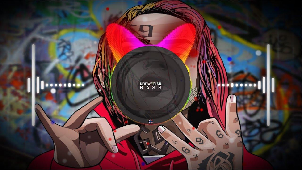 6IX9INE - YAYA (Bass Boosted) (Lyrics)