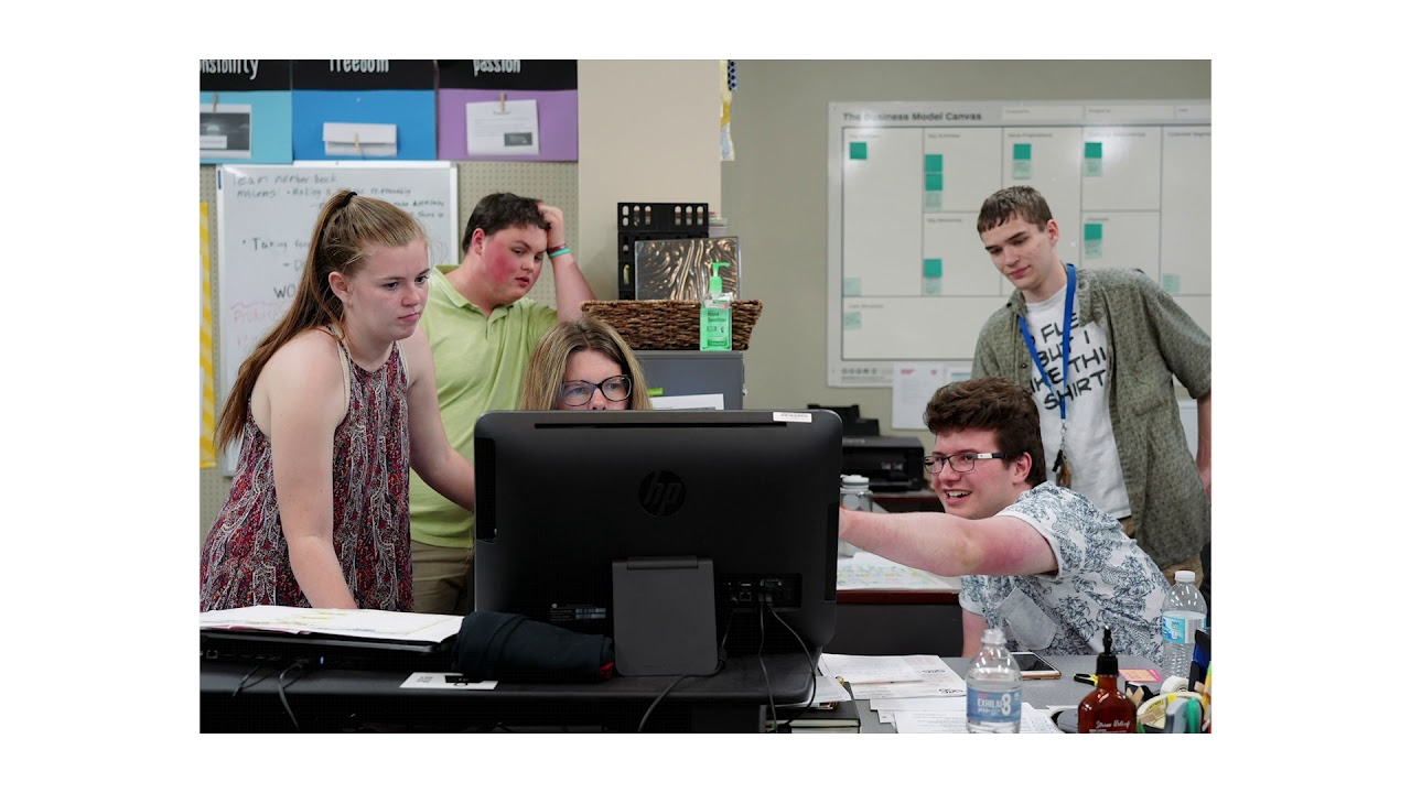 Independence screen-printing store doubles as a classroom for real-world learning