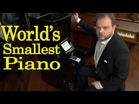 World's Smallest Piano