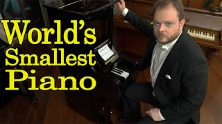 World's Smallest Piano (Only 5 Keys)