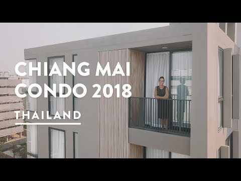 $700 LUXURY CONDO - CHIANG MAI APARTMENT RENT | Thailand Vlog 118, 2018 | Digital Nomad Chiangmai